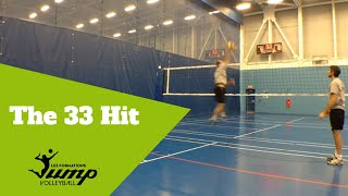 How To Hit After Passing A Short Serve - Tip #44