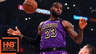 Los Angeles Lakers vs Portland Trail Blazers 1st Half Highlights | 11.14.2018, NBA Season
