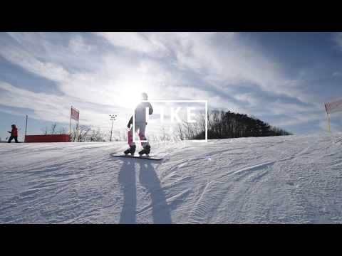 Like a Man (Alpine Snowboarding)