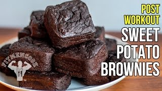 Post-Workout Sweet Potato Brownies for Meal Prep / Brownies de Batata