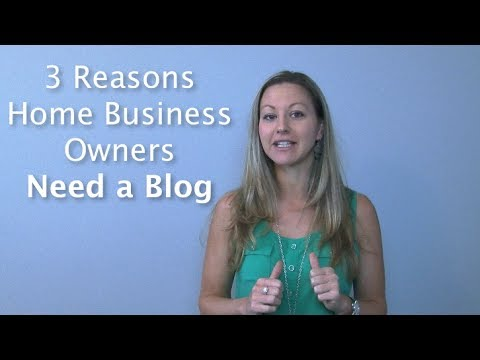 Why Blog? 3 Big Reasons to Blog if You Have a Home Business