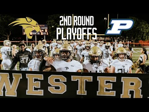 REVENGE!! || Palmetto VS Western high school football || Road to state
