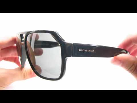Dolce & Gabbana DG 4138 501/87 Shiny Black Sunglasses