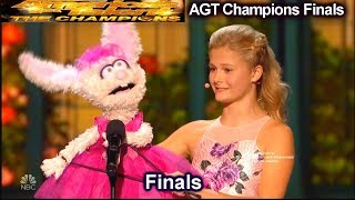 "Darci Lynne  Italian Opera ""O Mio Babbino Caro"" AMAZING   America's Got Talent Champions Finals AGT"