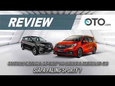 Suzuki Ertiga Sport vs Honda Mobilio RS 2019 | Review | Siapa Paling Sporty? | OTO.com
