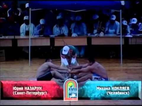Mikhail Koklyaev mas-wrestling