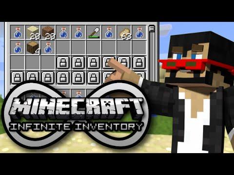 Minecraft: INFINITE INVENTORY! - Mod Showcase