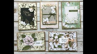 5 Easy Cards Using Magnolia Lane Memories & More