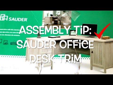 Assembly Tip Sauder Office Desk