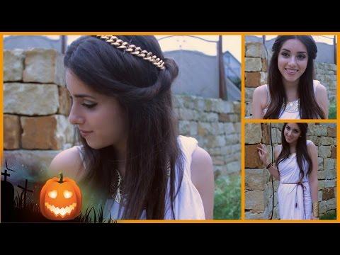 Griechische Göttin   DIY Halloween Kostüm & MakeUp   #magscary