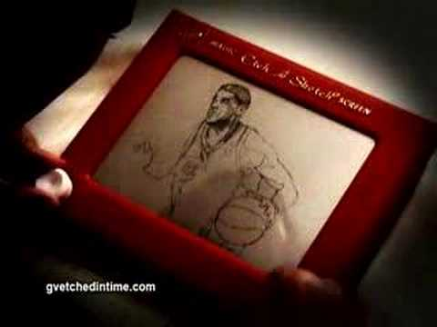 Amazing Etch-A-Sketch artist in action
