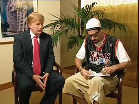 Ali G s Donaldem Trumpem
