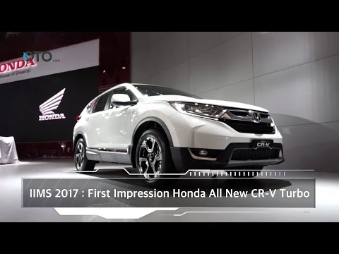 IIMS 2017 : First Impression Honda All-New CR-V Turbo I OTO.com