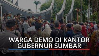 Bupati Pesisir Selatan Dilantik dengan Status Terpidana, Warga Demo di Gubernur Sumbar