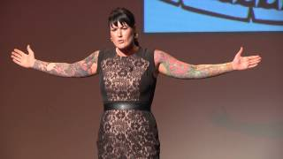 Hard Hits & Hard Lessons: Founding of Woman's Roller Derby League: Jennifer McMahon at TEDxEureka