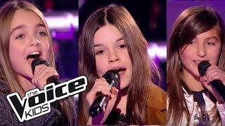 "Angelina  Lara  Éléa   ""Lost On You""   (LP)  | The Voice Kids France 2017 | Battle"