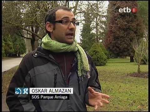SOS Parque Arriaga en ETB (Euskera)