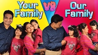 YOUR Family vs MY Family | #Sketch #Roleplay #Fun #CuteSisters
