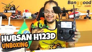 DRONE RACER FPV HUBSAN H123D X4 JET UNBOXING