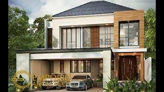 Video Desain Rumah Modern 2 Lantai Bapak Andrean Siahaan di  Jakarta Selatan