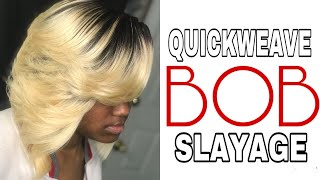101 How To Quick Weave Bob W  No Leaveout