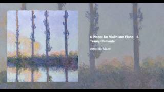 6 Pieces for Violin and Piano