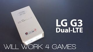 LG G3 Dual LTE Smartphone Unboxing