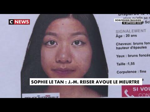 Jean-Marc Reiser a avoué le meurtre de Sophie Le Tan Jean-Marc Reiser a avoué le meurtre de Sophie Le Tan