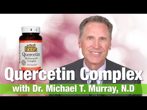 Video Natural Factors Quercetin Complex with Dr.  Michael T.  Murray