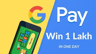 Google Pay (Google Tez) app|Earn 1 Lakh Just by Playing Games|Best Tips and Tricks|With Live Demo