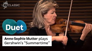 Anne-Sophie Mutter plays George Gershwin's