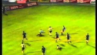 1982 (September 29) Sporting Lisbon (Portugal) 3-Dinamo Zagreb (Yugoslavia) 0 (Champions Cup)
