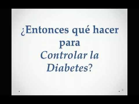 Gangrena con el vídeo de la Diabetes