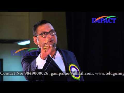 Negative |JVC Sreeram | TELUGU IMPACT Vizag 2015