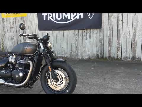 2022 Triumph Bonneville Bobber in Charleston, South Carolina - Video 1