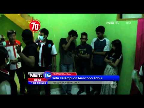 BNN Gerebek Puluhan Sarang Narkoba di Pekanbaru, Riau - NET16