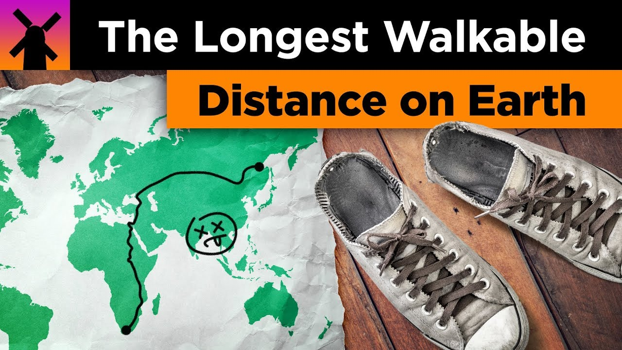 What's the Longest Walk-able Distance on Earth? thumbnail