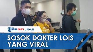 Penampakan dr Lois Owien di Polda Metro Jaya, Dikawal Petugas saat Akan Dibawa ke Mabes Polri