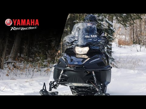2021 Yamaha VK Professional II in Mio, Michigan - Video 1