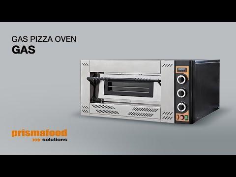 Video Four 9 pizzas gaz professionnel PRISMAFOOD