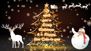 merry christmas greetings video card | Merry Christmas greetings HD, Merry Christmas messages videos