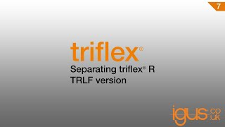 Separating triflex R TRLF version