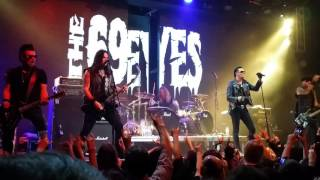 The 69 Eyes - Don't Turn YourBack On Fear (live in Red clud 08.10.16)