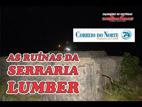 ESPÍRITOS DAS RUÍNAS DA SERRARIA LUMBER