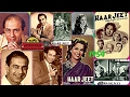 TALAT MEHMOOD-Film-HAAR JEET-{1954}~Khamosh Hain Sitare Aur Raat-[A Tribute To Great Legend]