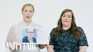 Amy Schumer and Aidy Bryant Explain Their Instagram Photos | Vanity Fair - Video Youtube