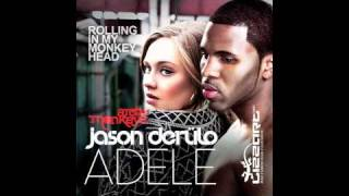 Adele vs jason derulo vs arctic monkeys mashup - rolling in my monkey head