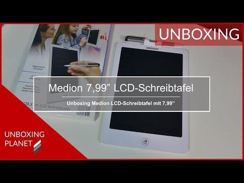 Unboxing Medion LCD-Schreibtafel 7,99 Zoll - Unboxing Planet