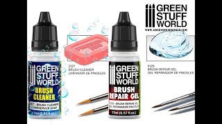 Creative : Brush Cleaner And Brush Repair Gel.