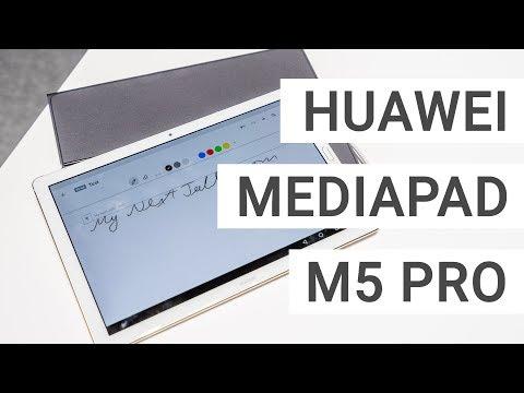 Huawei MediaPad M5 Pro mit Tastatur & Stift im Kurztest | Deutsch